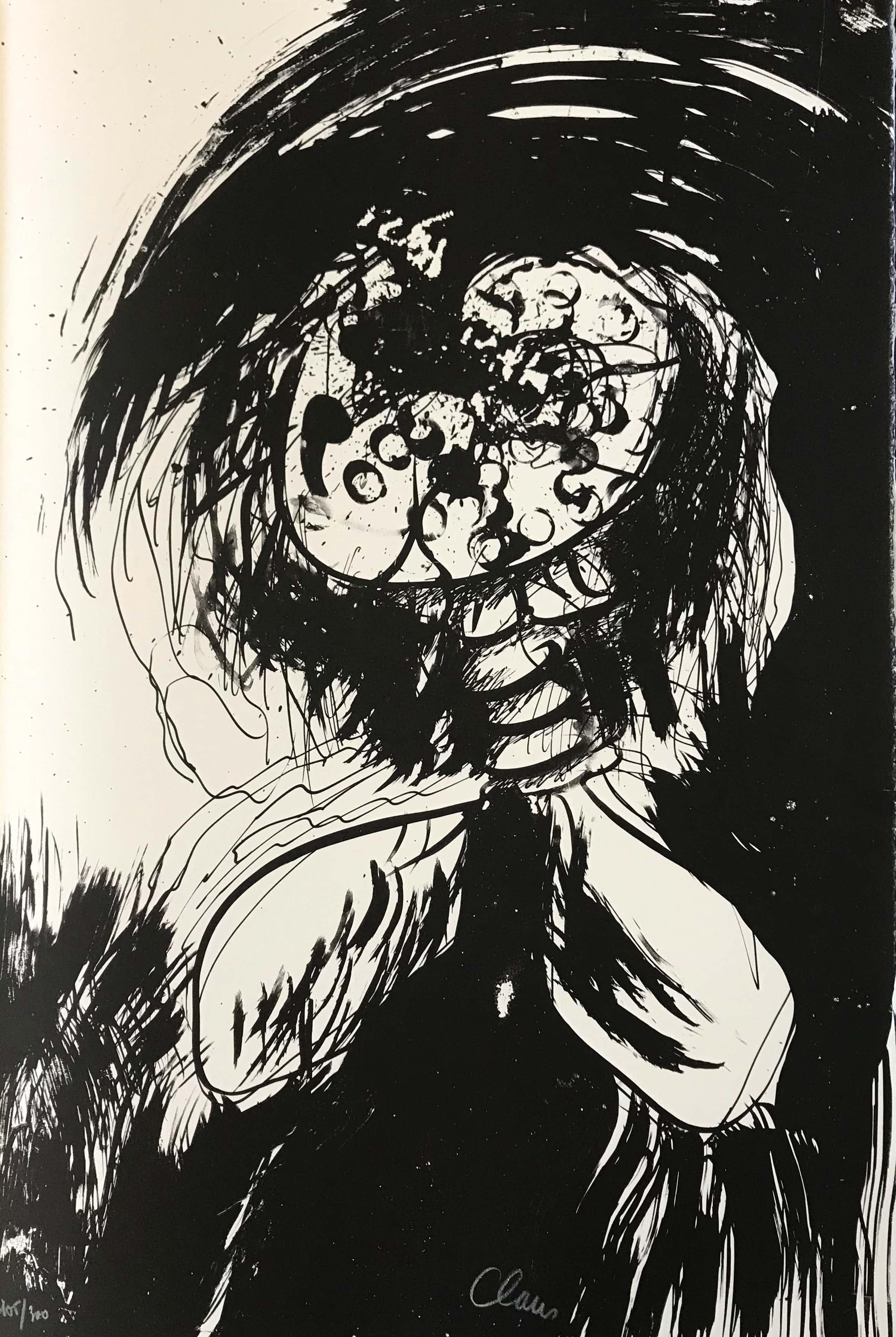 Hugo Claus - Kleurenlitho - Fuga - Winter 2 - 1979 - 105/300 kopen? Bied vanaf 65!