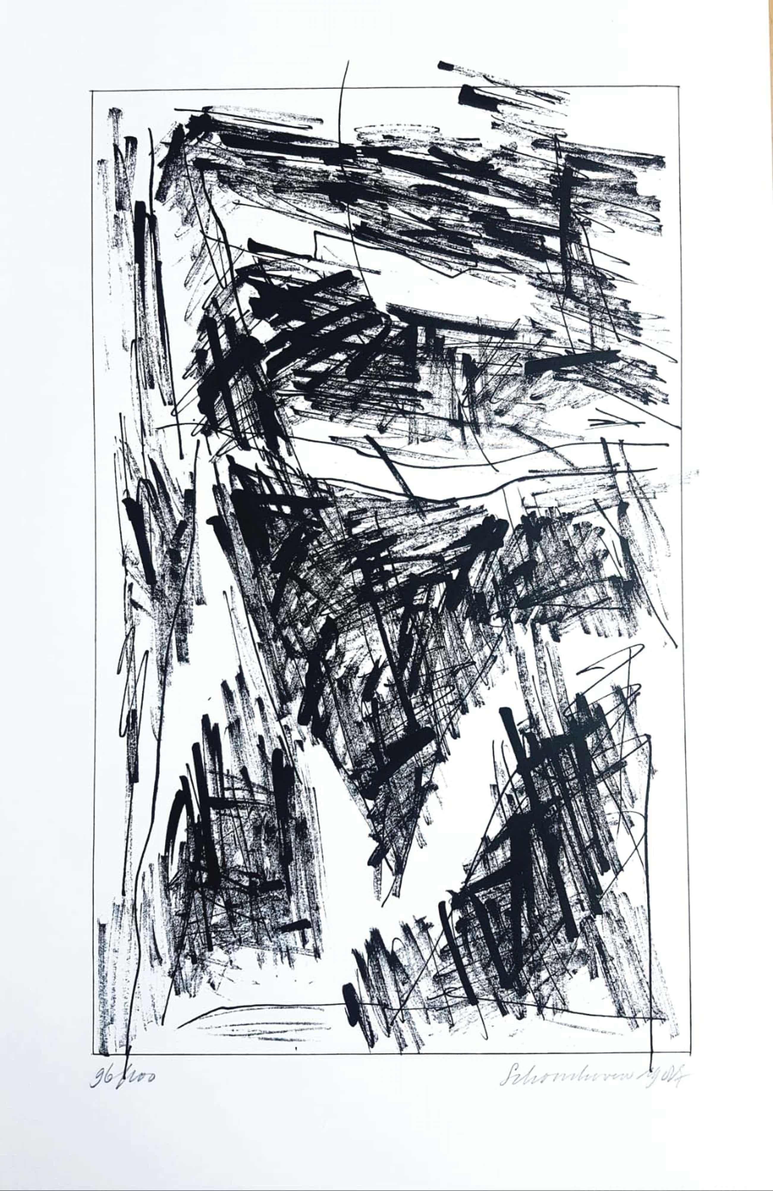 Jan Schoonhoven - Jan Schoonhoven 1914-1994 originele handgesigneerde,genummerde litho uit 1987 kopen? Bied vanaf 260!