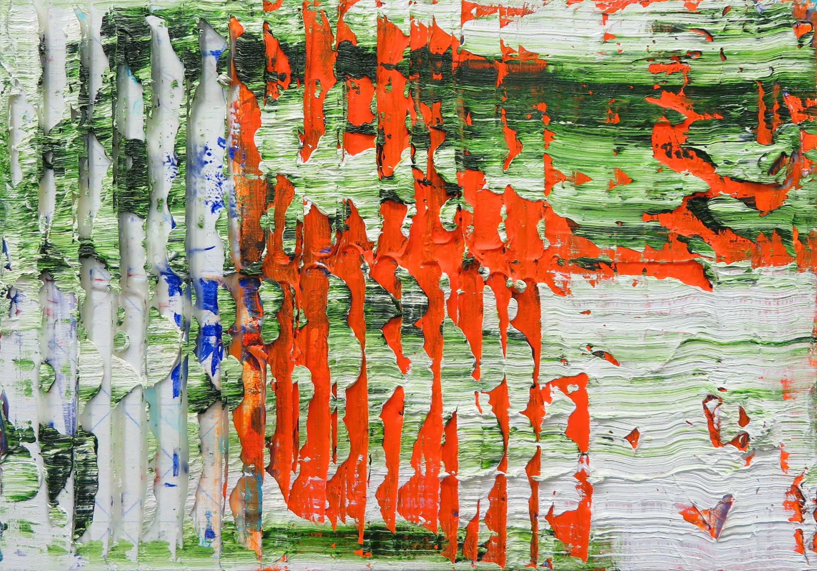 Koen Delaere - Pasteuze compositie in felle kleuren kopen? Bied vanaf 2400!