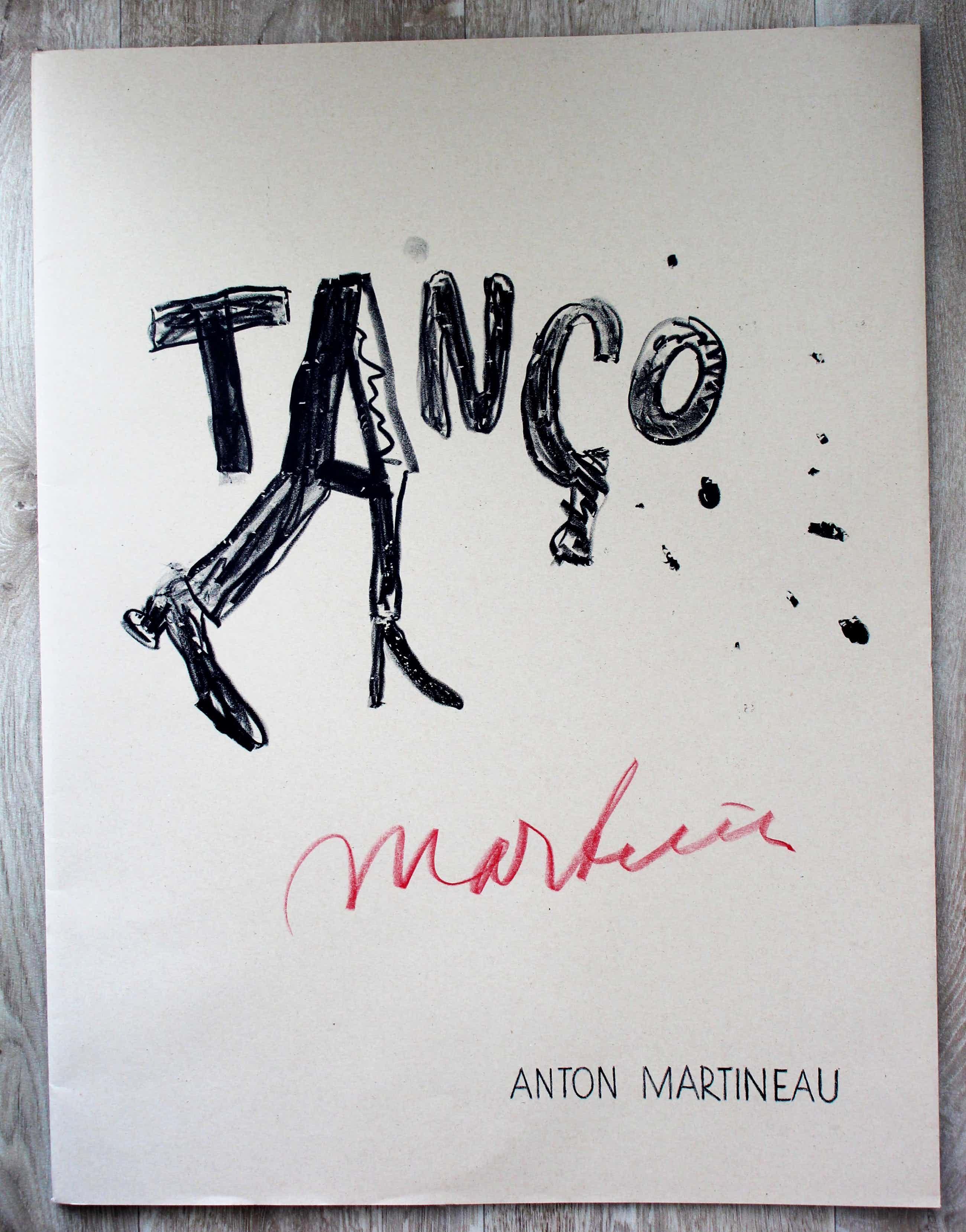 Anton Martineau - Twee gedichten en map(gesigneerd): Tango - 1998 kopen? Bied vanaf 50!
