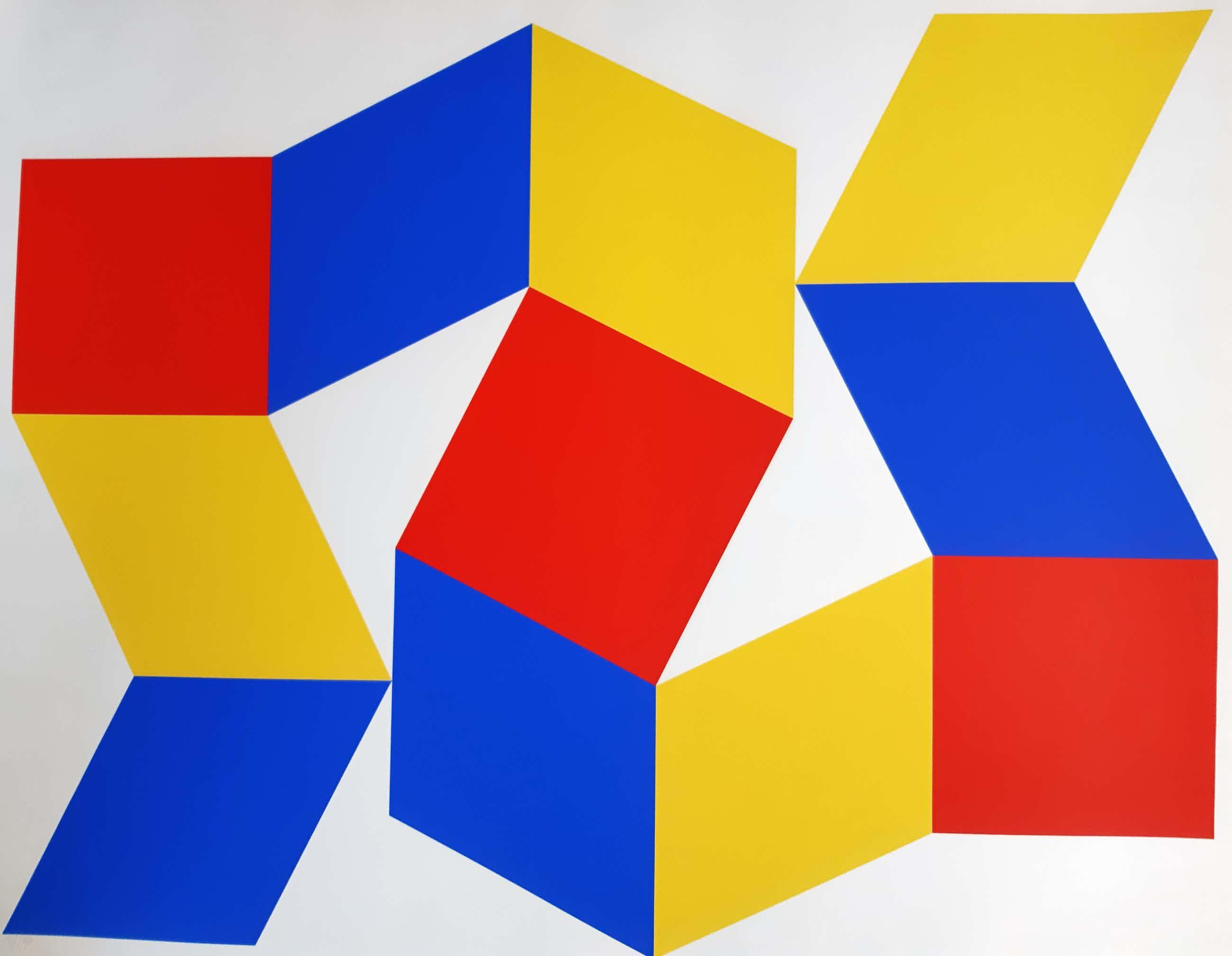 Bob Bonies - Abstracte compositie kopen? Bied vanaf 220!
