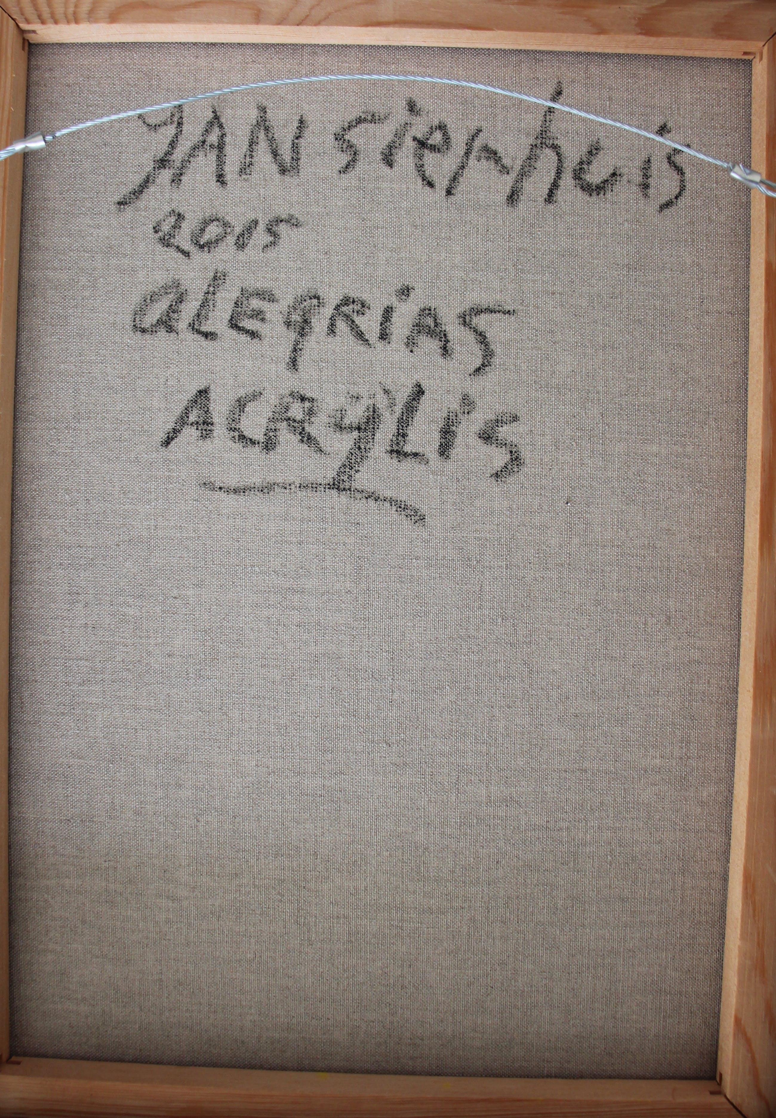 Jan Sierhuis - acryl op doek : Alegrias - 2015 kopen? Bied vanaf 350!