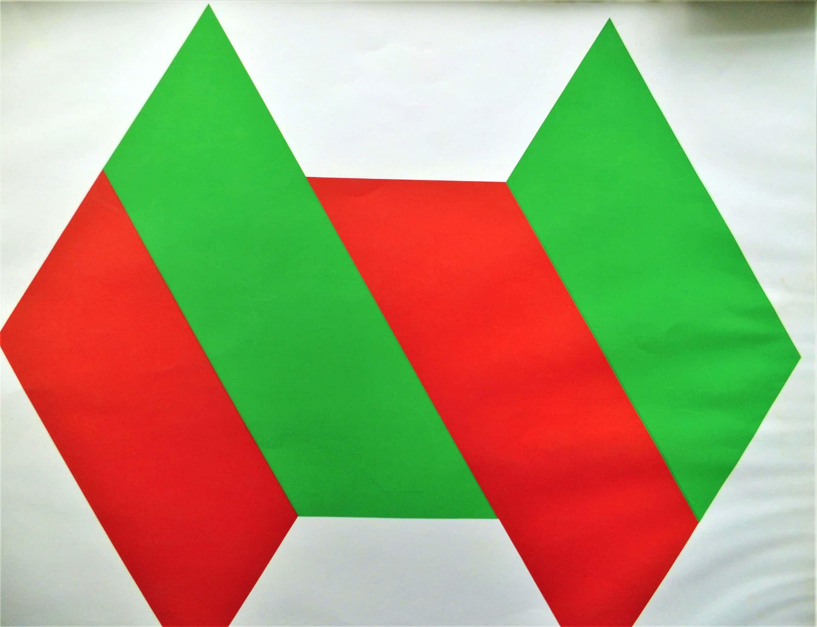 Bob Bonies - abstracte zeefdruk kopen? Bied vanaf 60!