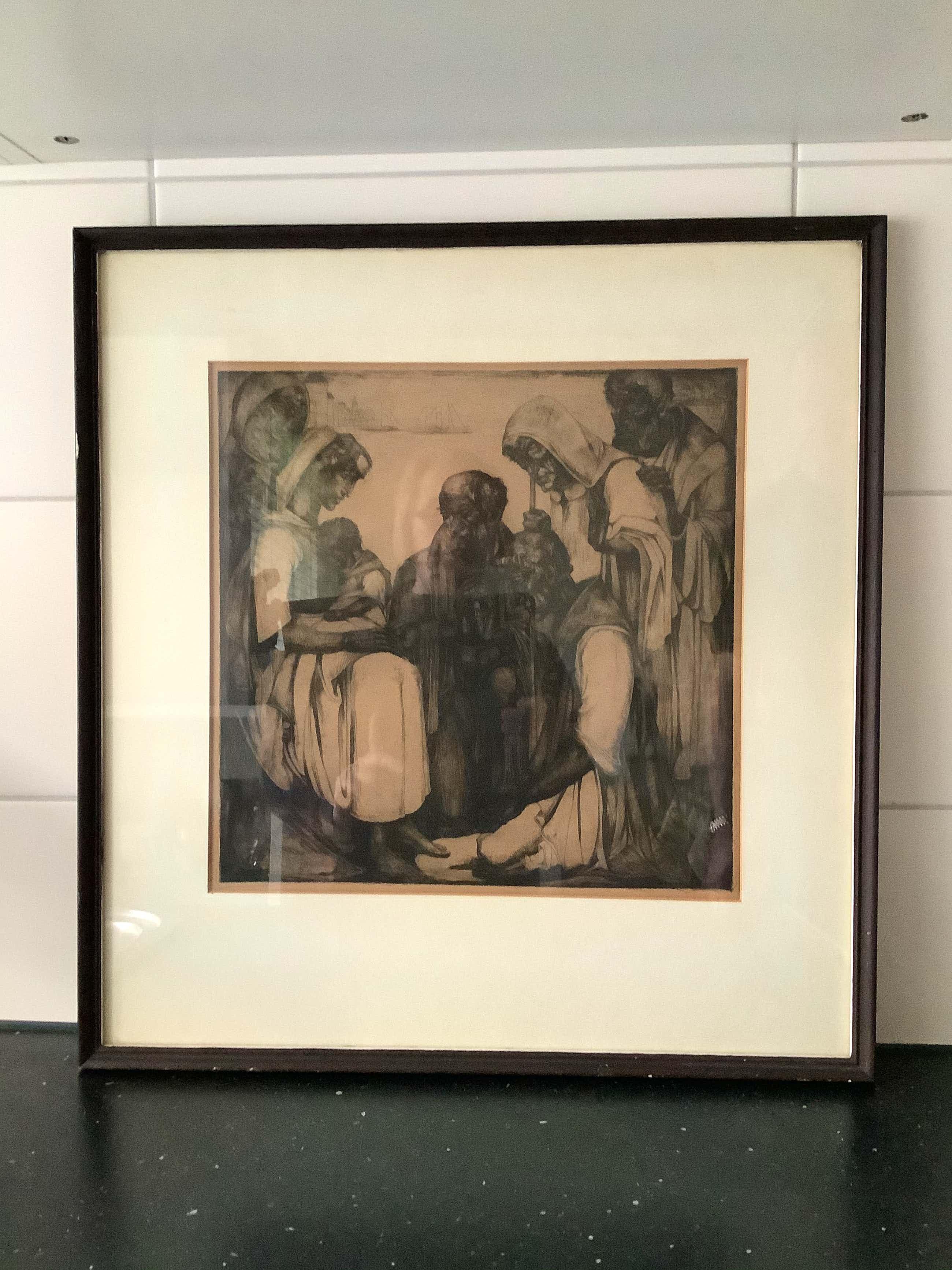 Willem van den Berg - Aanbidding van Christus door de drie koningen kopen? Bied vanaf 95!