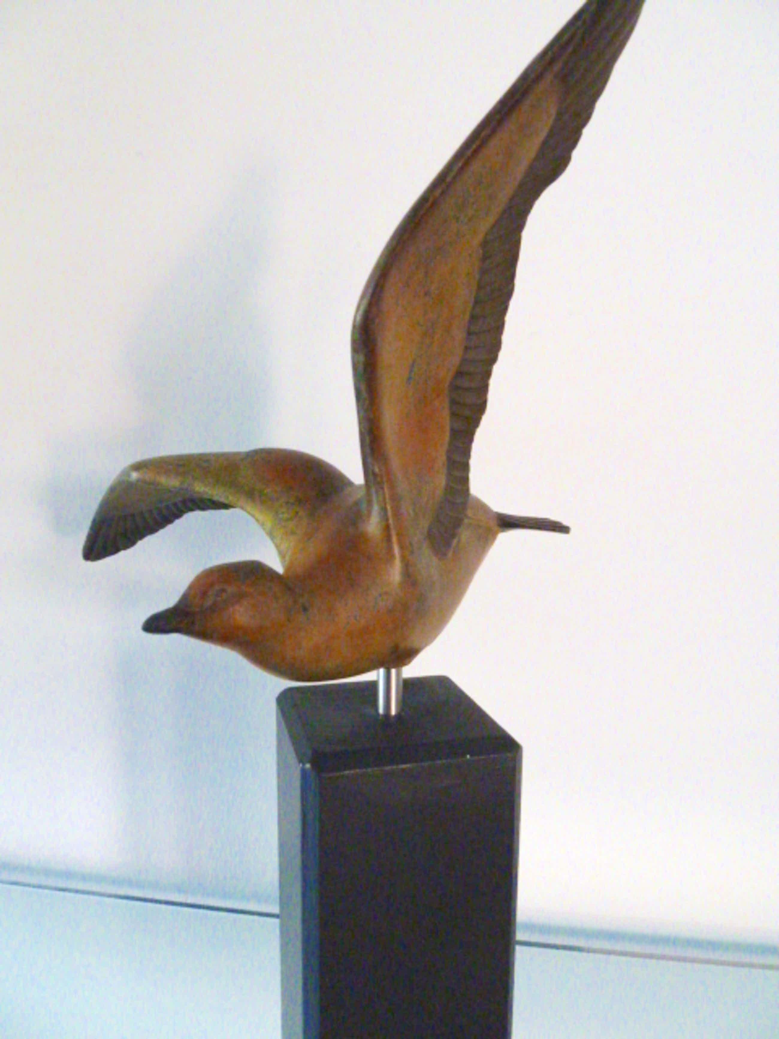 Niet of onleesbaar gesigneerd - Vogel (brons) jaren '30 kopen? Bied vanaf 111!