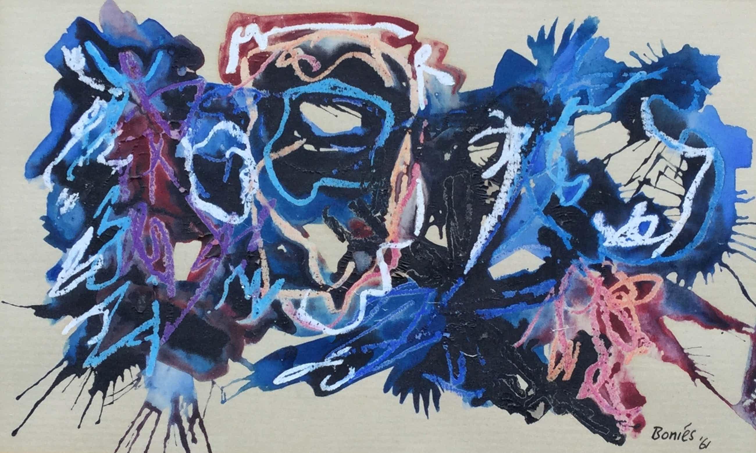 Bob Bonies - C2326 Abstracte compositie kopen? Bied vanaf 100!