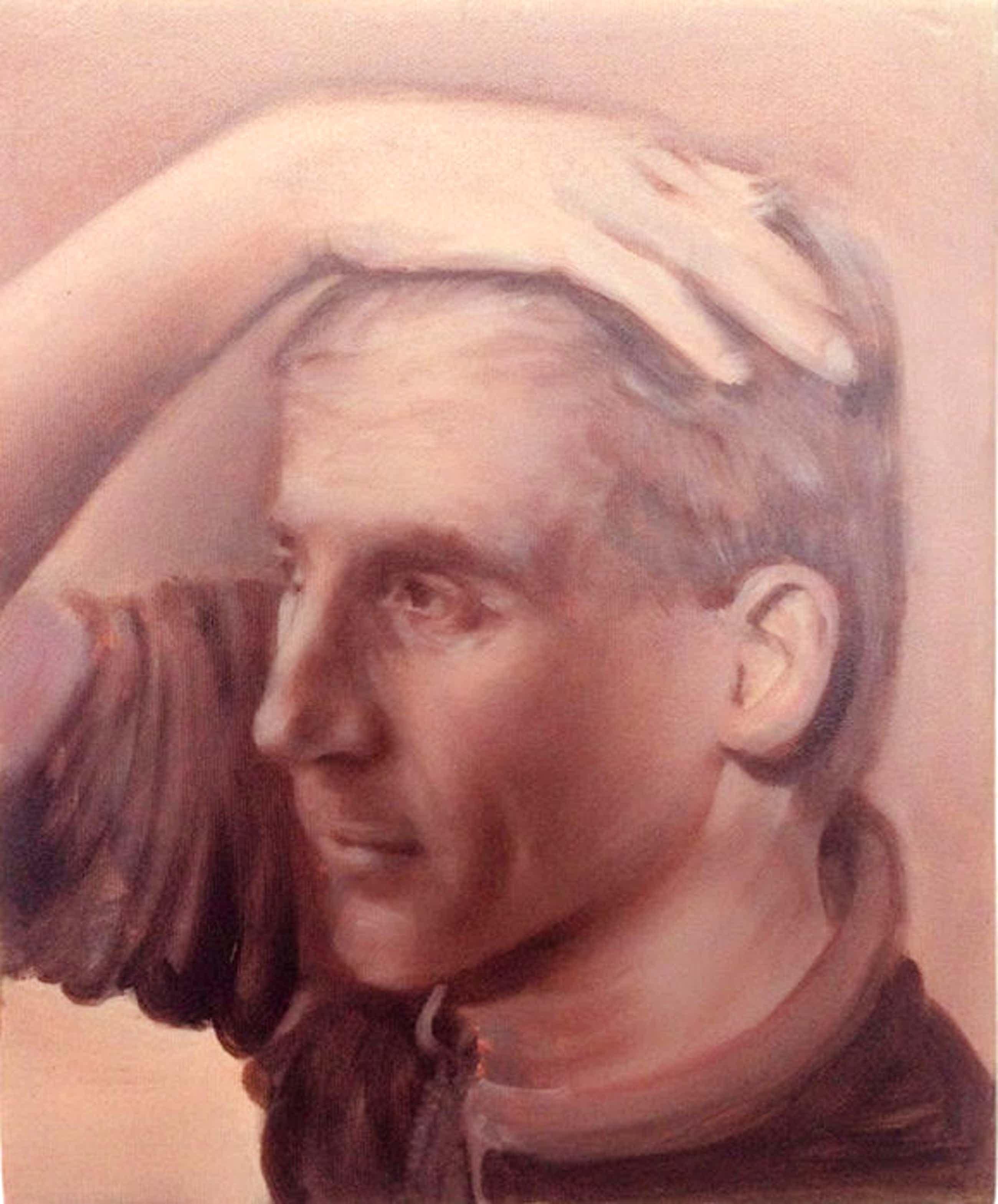 Erwin van Krey - Man holding his head kopen? Bied vanaf 65!