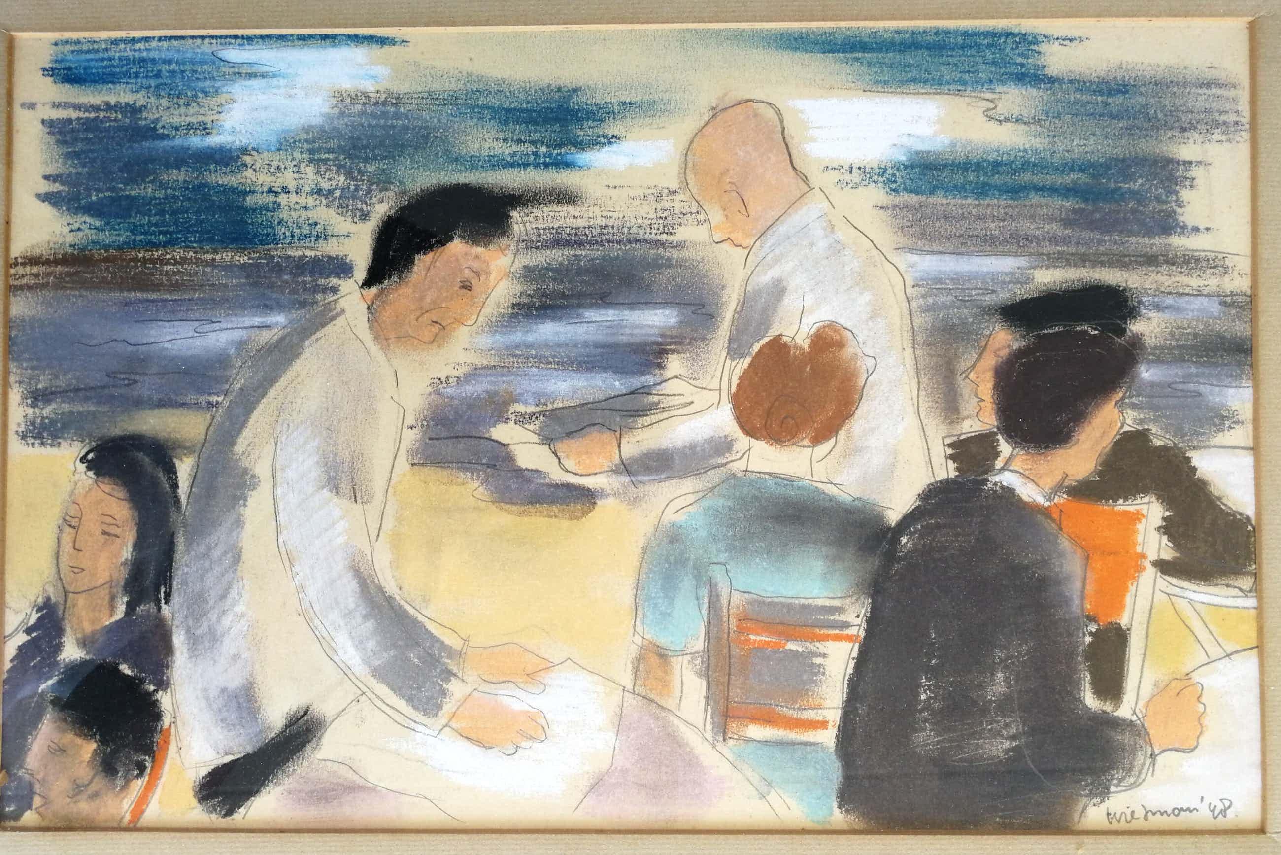Piet Wiegman (II) - De tekenles. kopen? Bied vanaf 89!