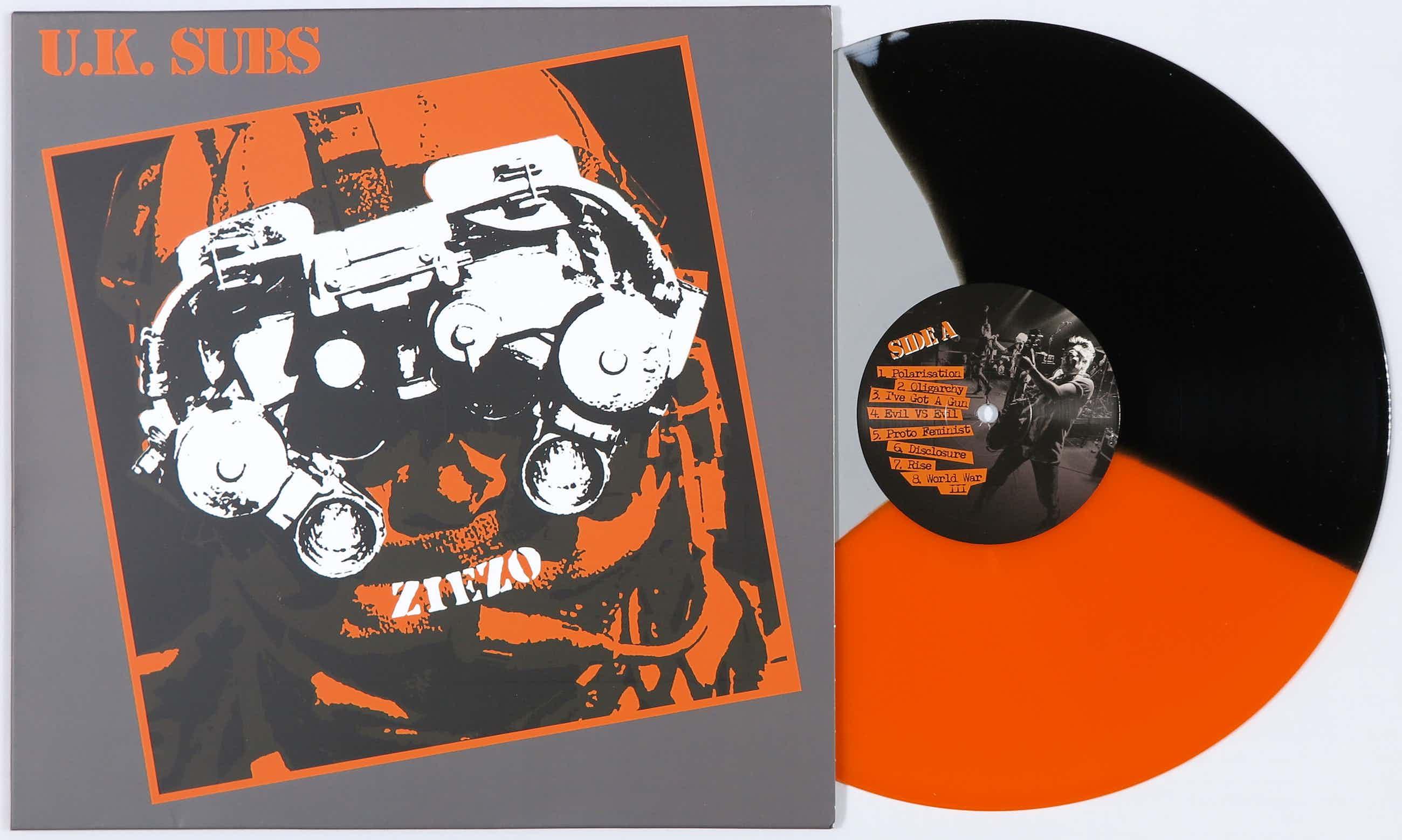 Banksy - Limited edition album Ziezo van U.K. Subs kopen? Bied vanaf 80!