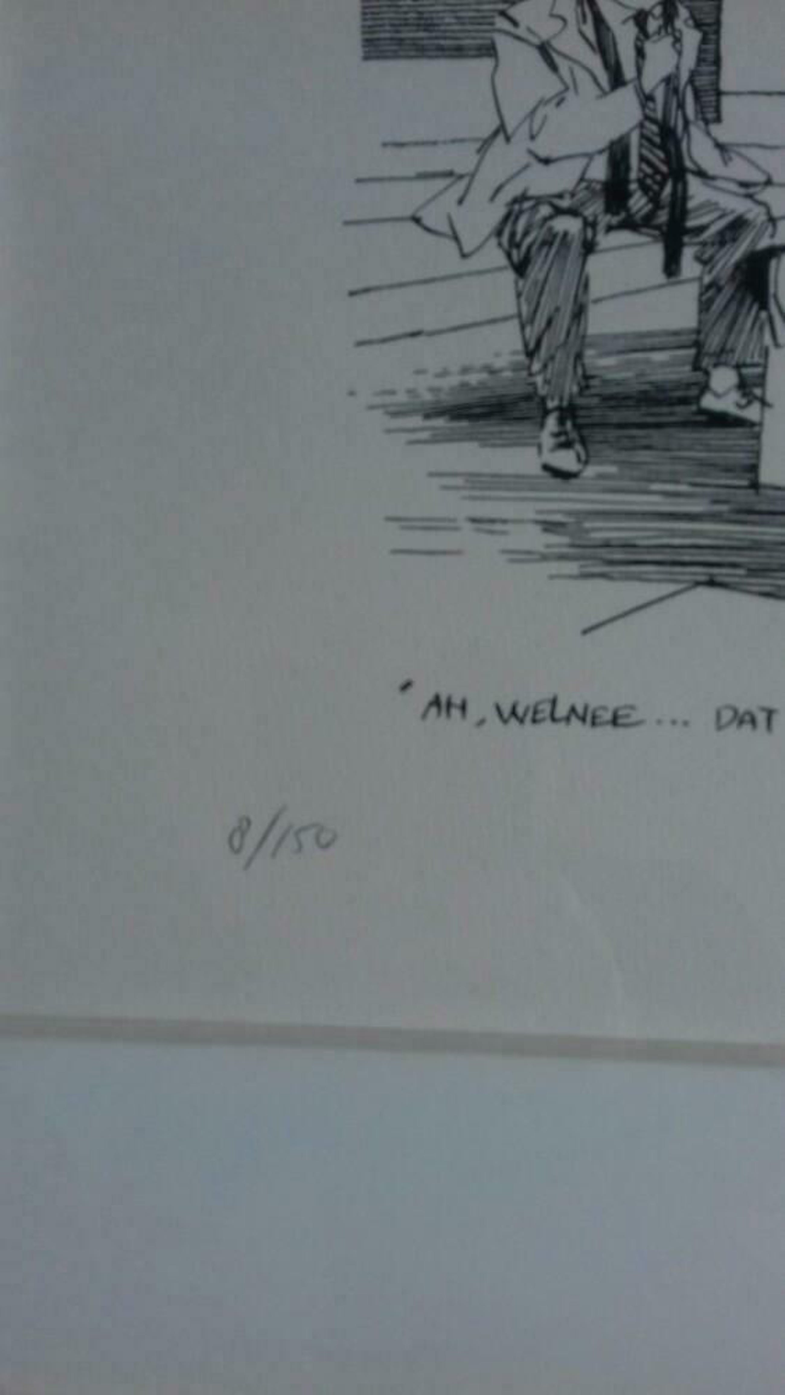 Peter van Straaten - 'Ach welnee, dat is gewoon kunst'(fraai gelijst) kopen? Bied vanaf 169!