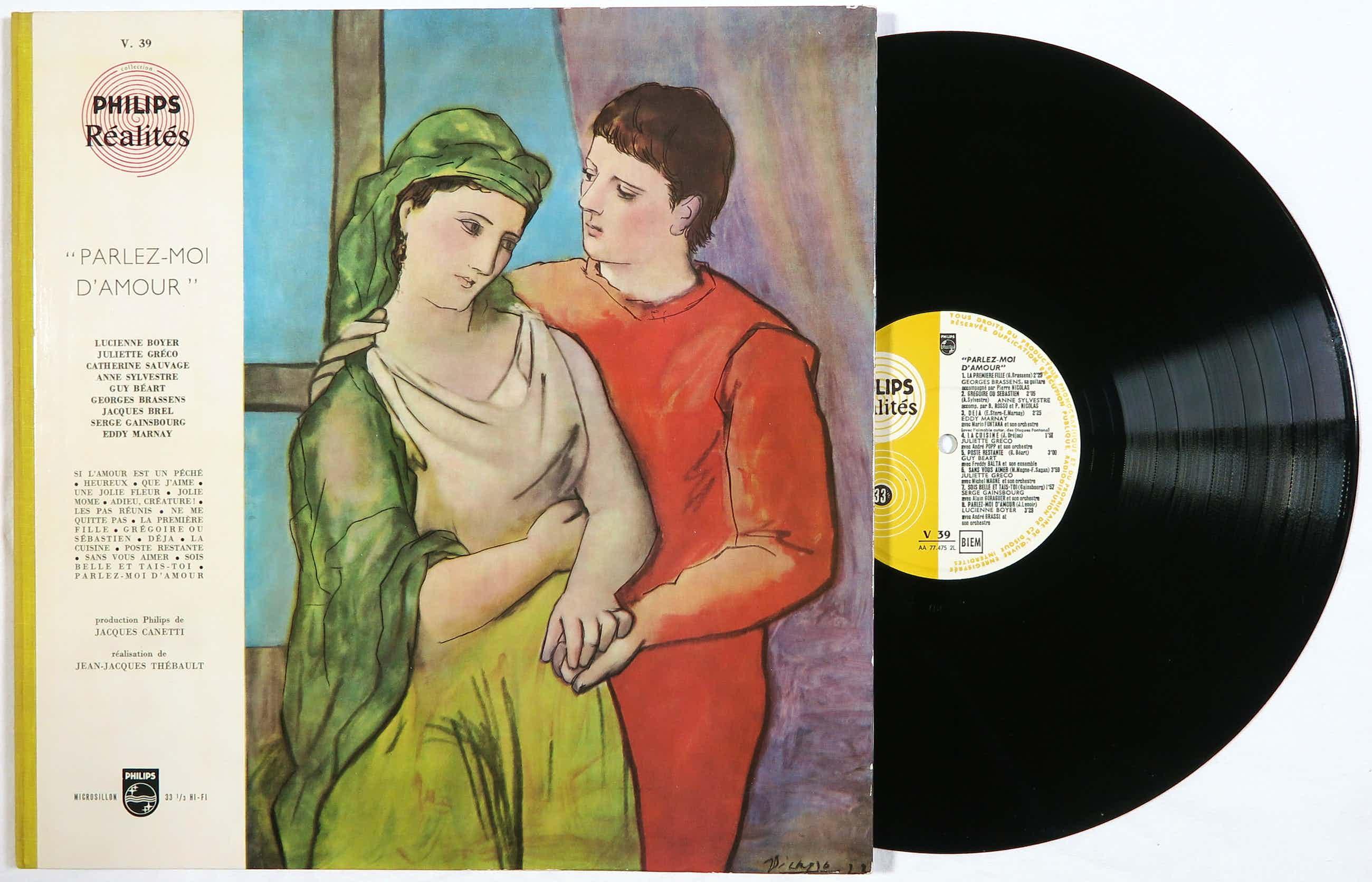 Pablo Picasso - Diverse artiesten - Album Parlez-moi d'Amour kopen? Bied vanaf 42!