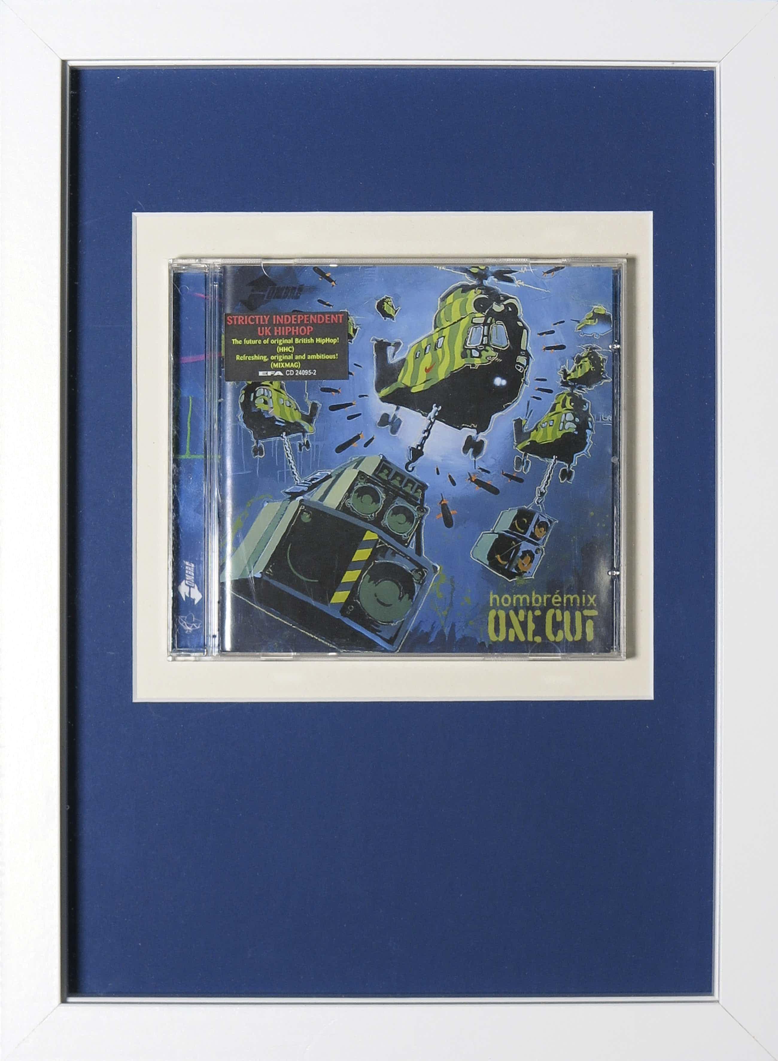 Banksy - One Cut, Hombrémix (CD) - Ingelijst kopen? Bied vanaf 126!