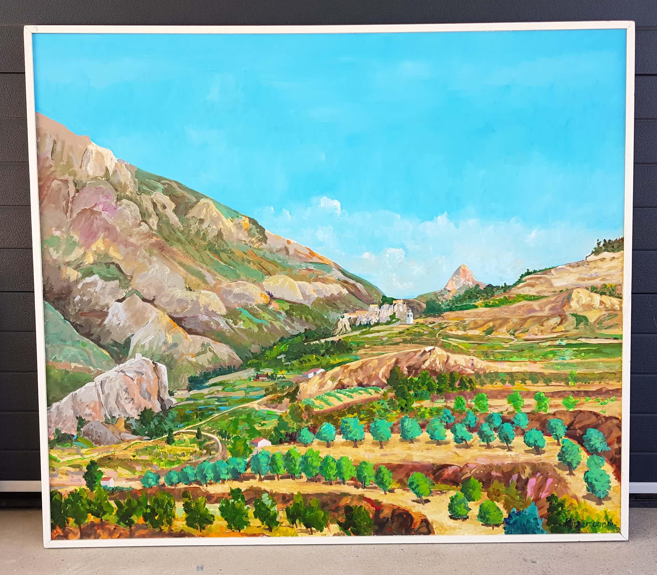 Frits Linnemann - Spaans landschap 1 kopen? Bied vanaf 350!