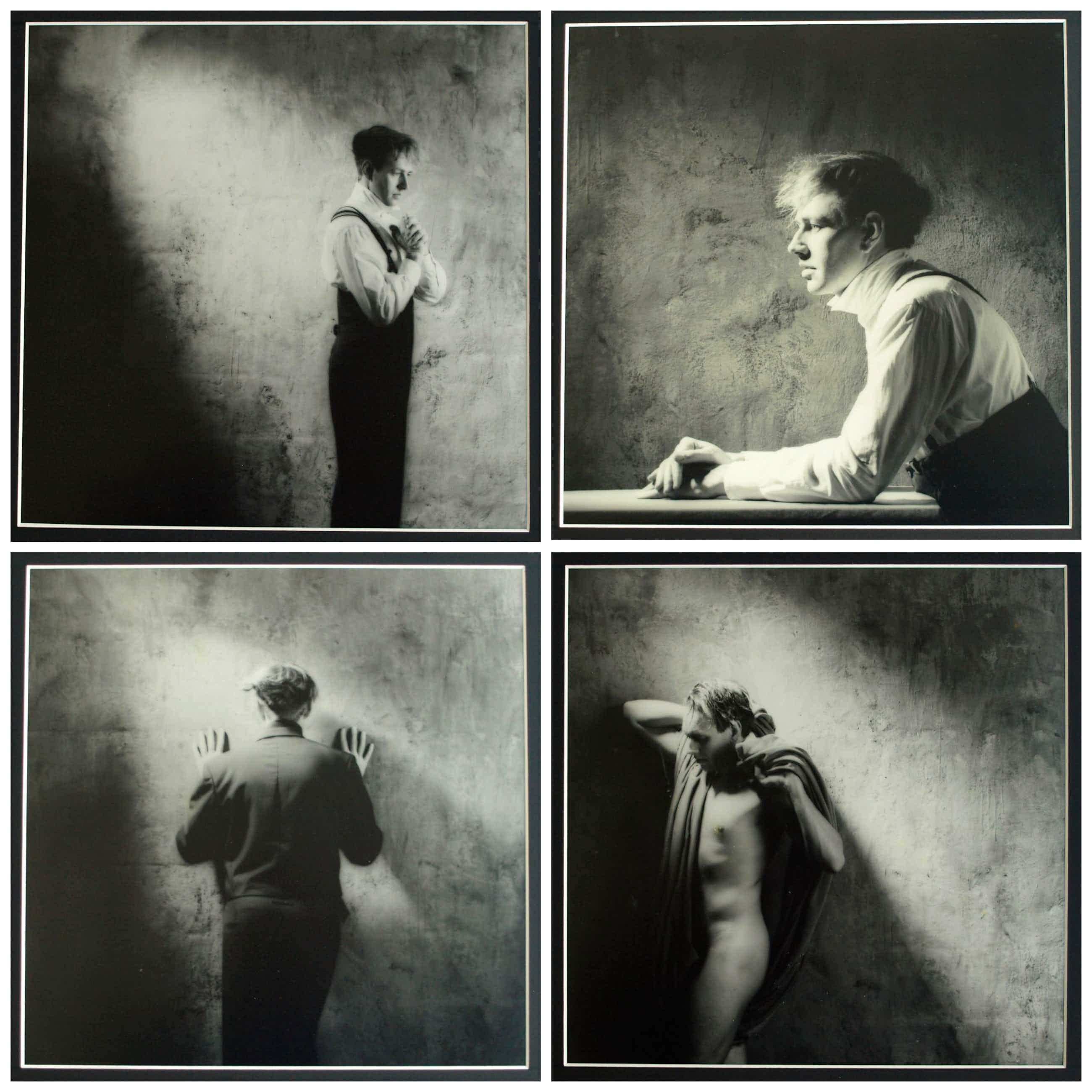 Erwin Olaf - 4 Ingelijste en handgesigneerde foto's uit 1986 – oplage 1 (!) – 35 x 35 cm kopen? Bied vanaf 1000!