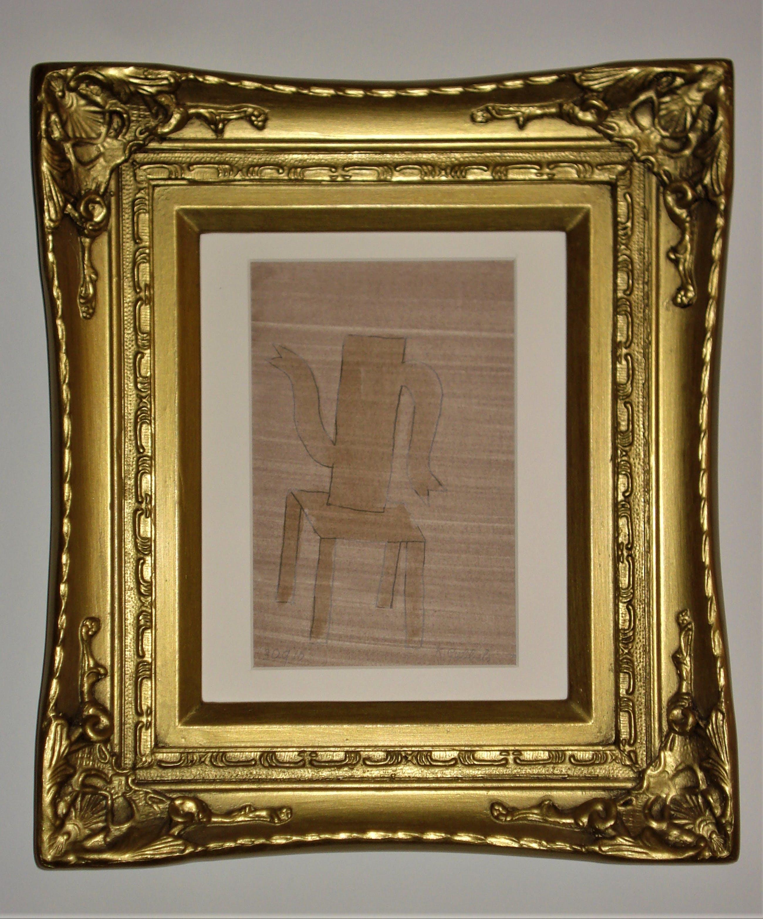 Klaas Gubbels - gemengde techniek in antieke lijst kopen? Bied vanaf 435!
