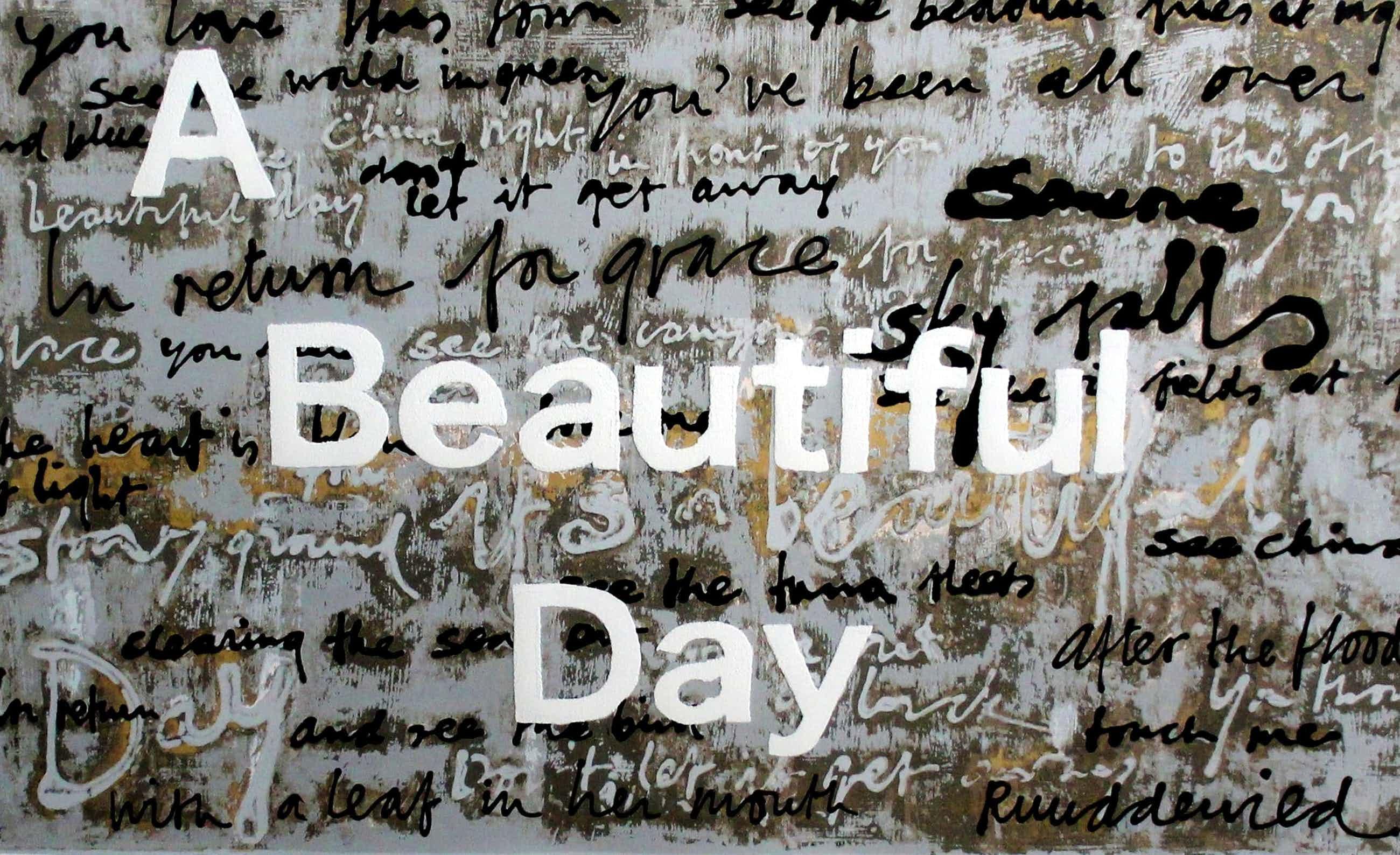 Ruud de Wild - ingelijste grote zeefdruk: A beautiful day (keurige lijst) kopen? Bied vanaf 650!