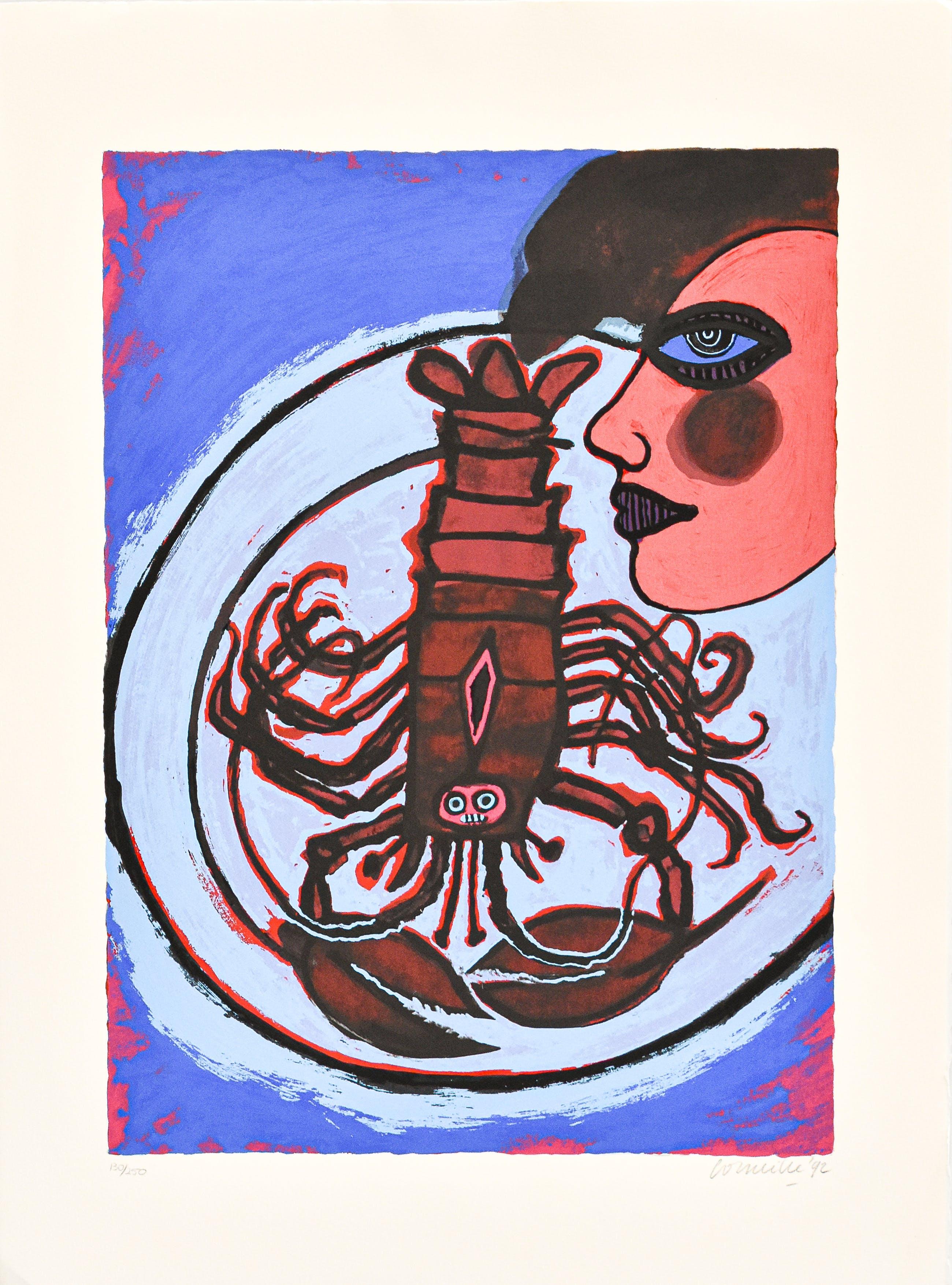 Corneille - Femme et homard kopen? Bied vanaf 150!
