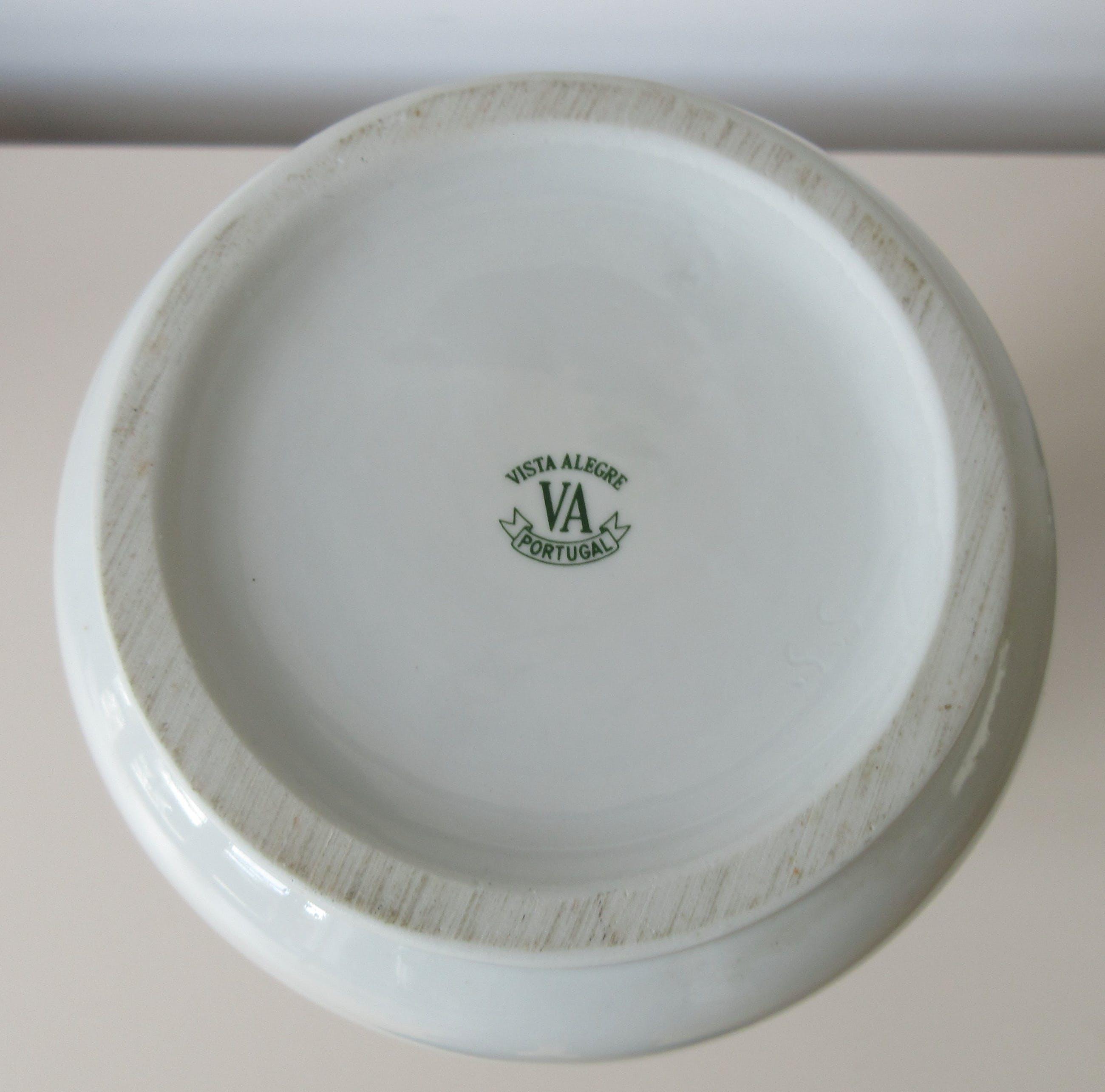 Vista Alegre - Grote vaas met rood hand beschilderd decor kopen? Bied vanaf 25!