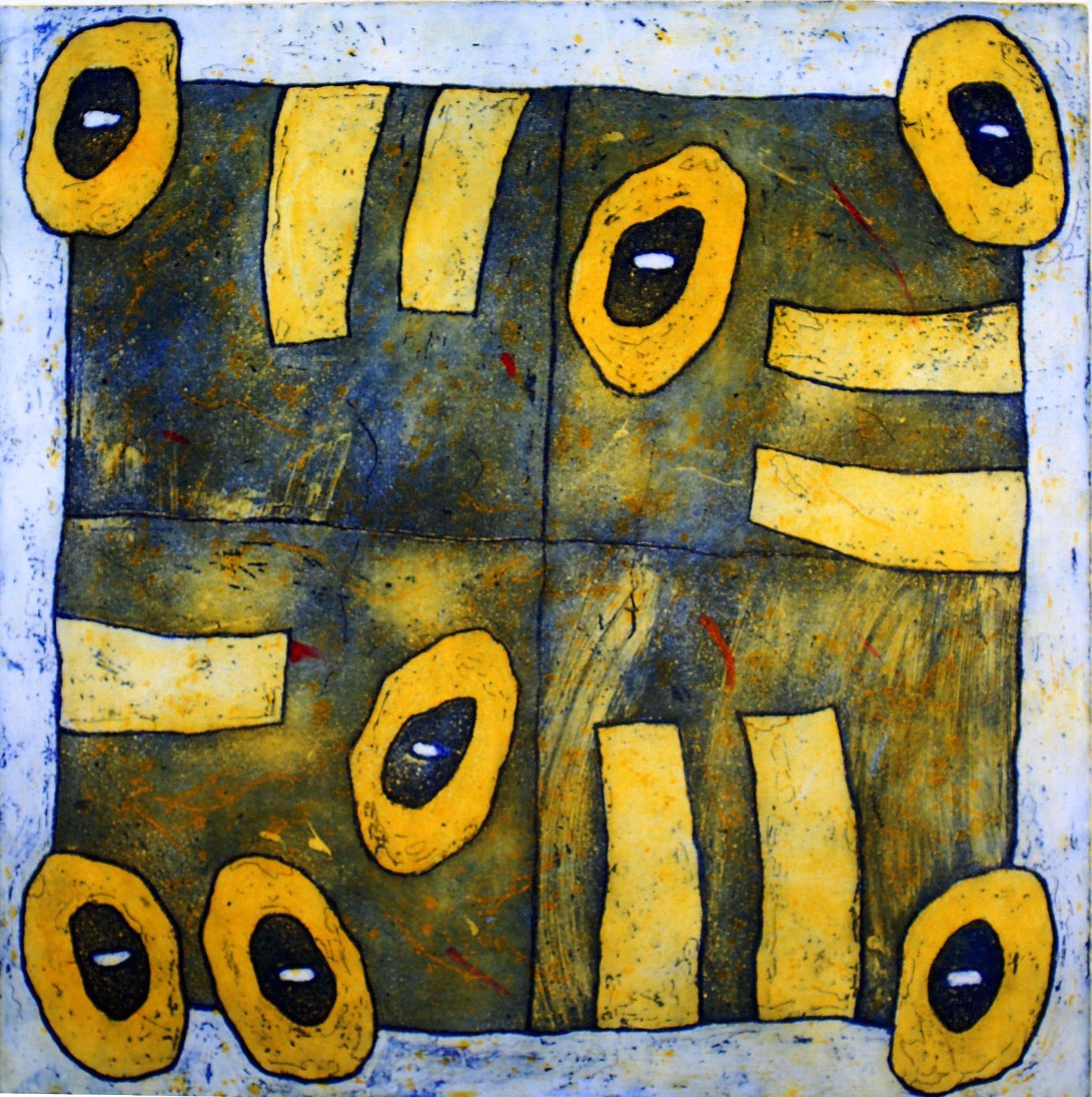 Lily Corver - abstractie kopen? Bied vanaf 75!