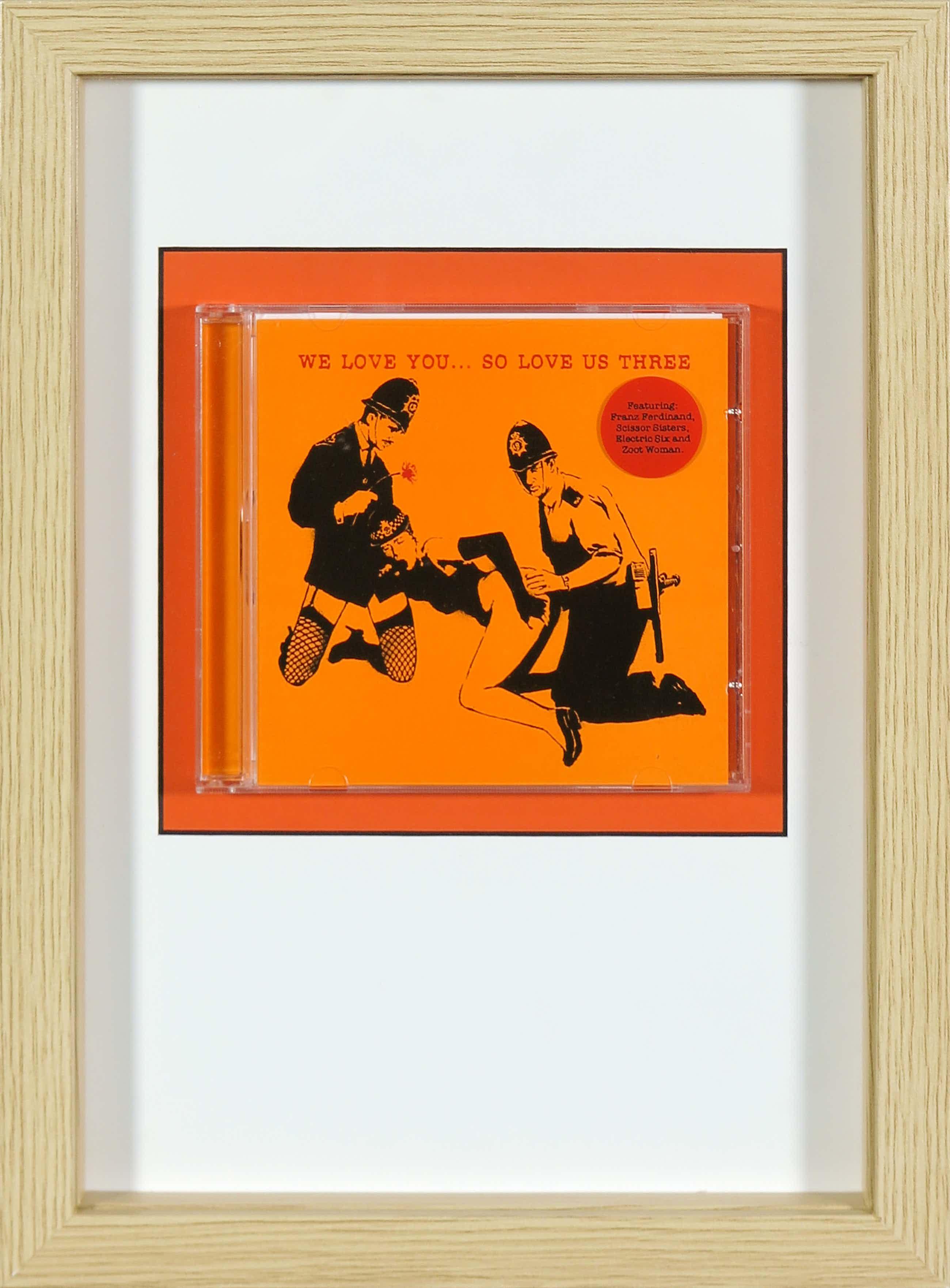 Banksy - We love you... so love us three (CD) kopen? Bied vanaf 45!