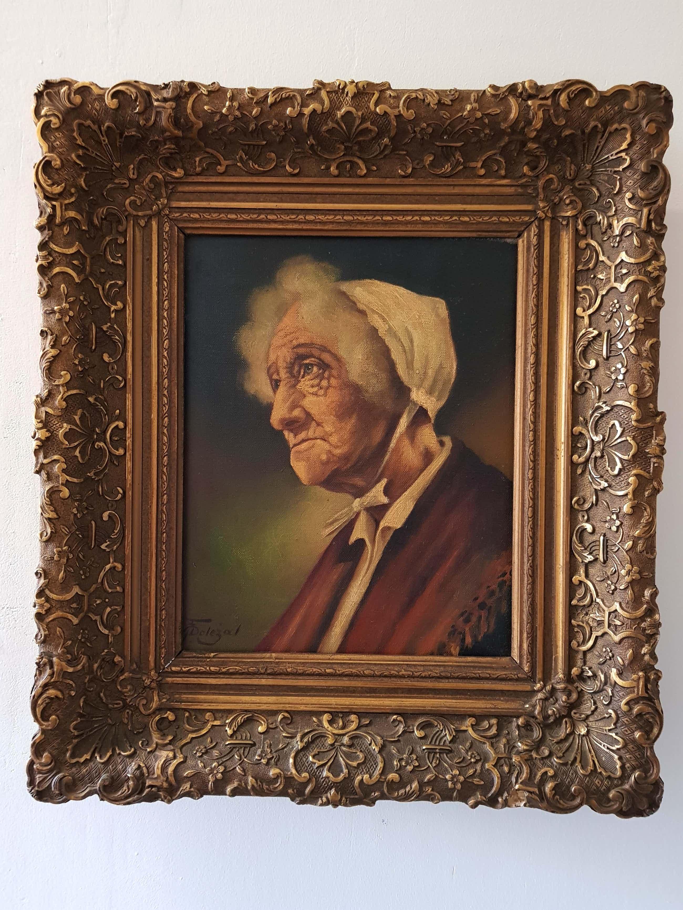 Frantisek Dolezal - portret van oude vrouw kopen? Bied vanaf 45!