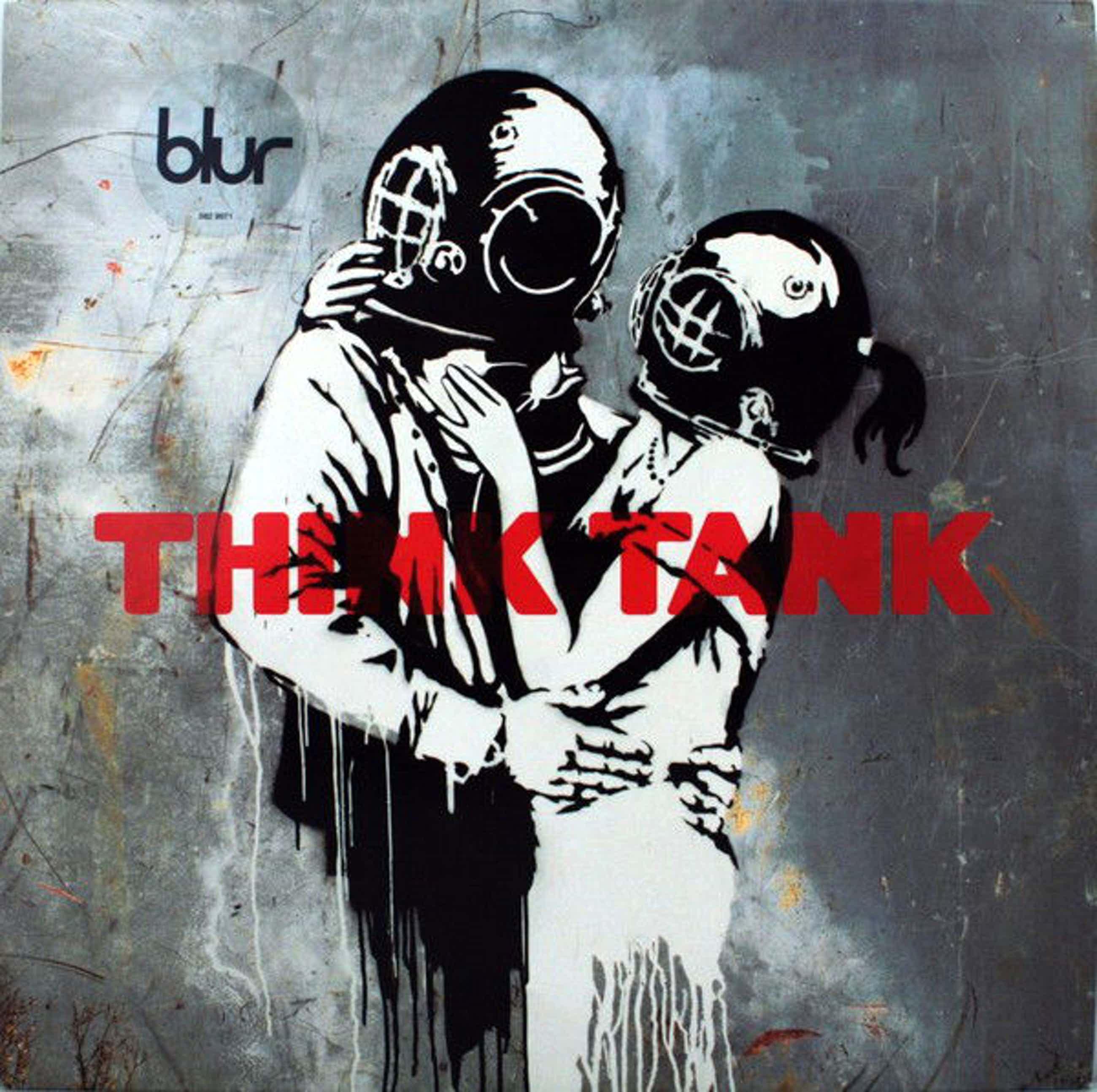 Banksy - Blur - Think Tank kopen? Bied vanaf 100!