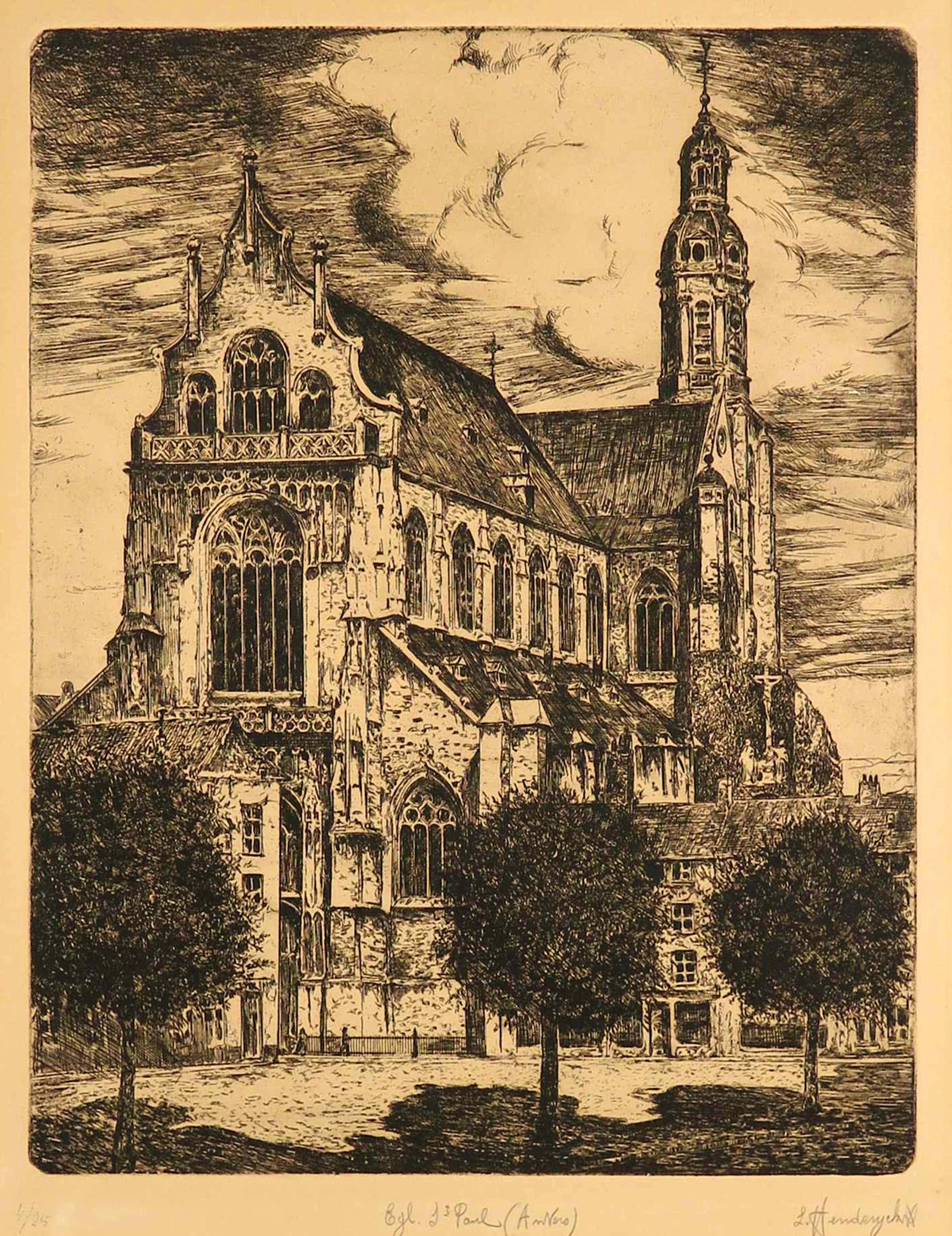 Leopold Henderyckx - Ets, St. Pauluskerk te Antwerpen kopen? Bied vanaf 35!