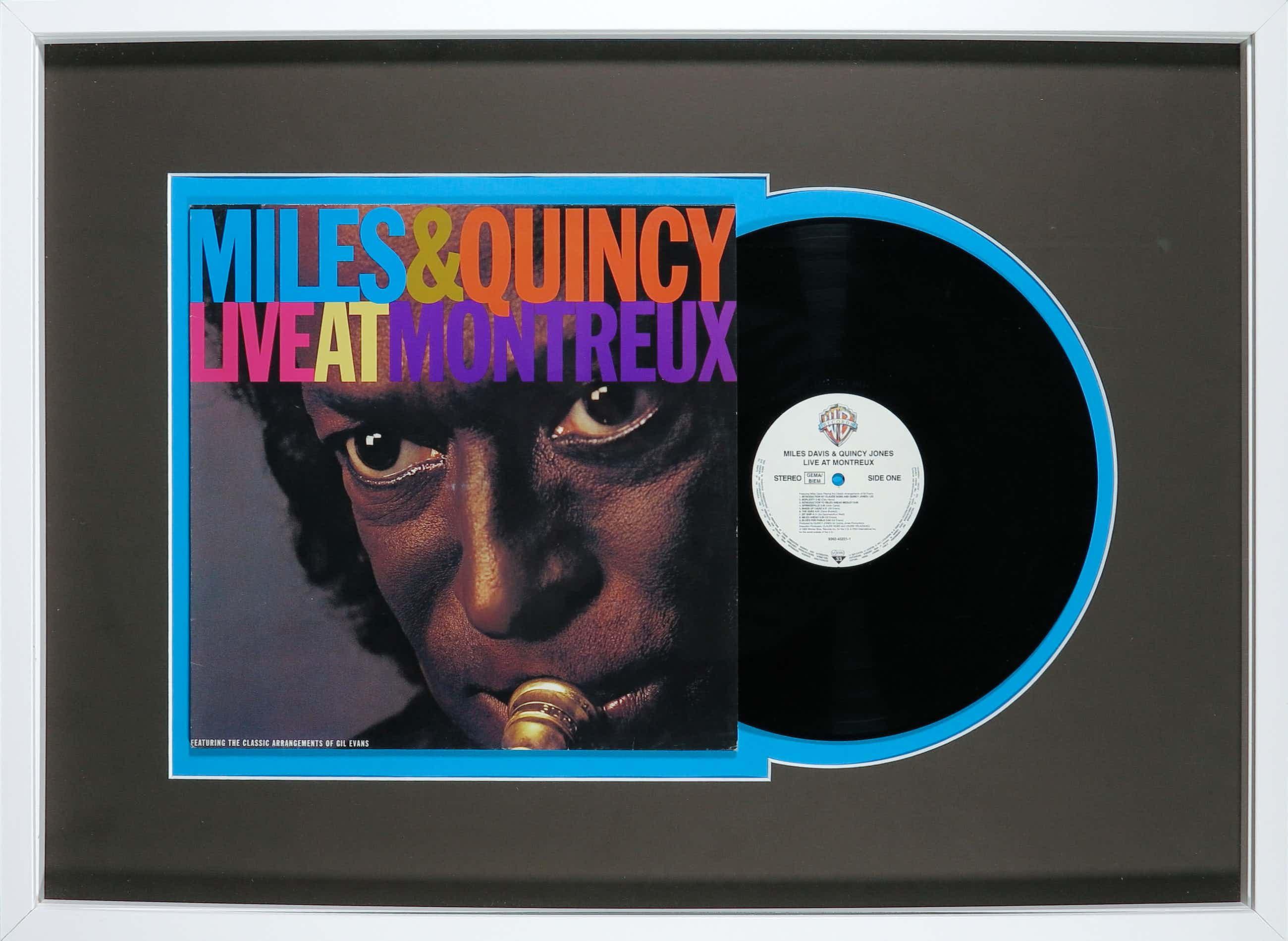 Miles Davis - & Quincy Jones - Live At Montreux - Ingelijst kopen? Bied vanaf 116!