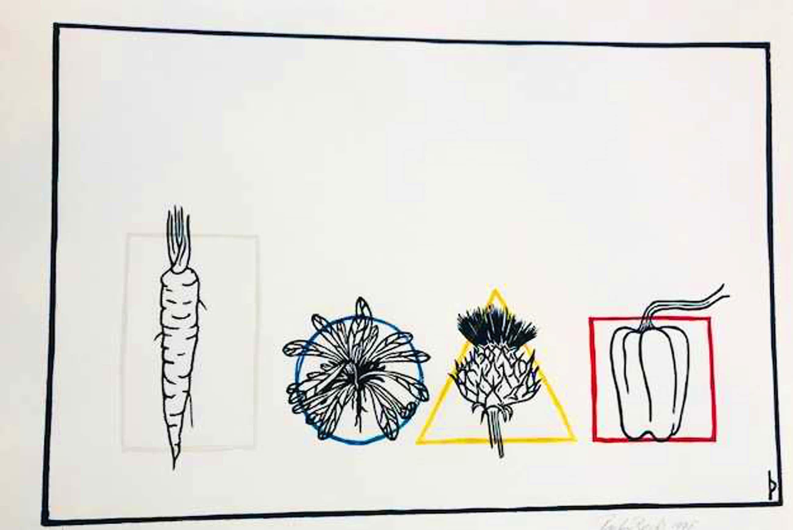 Pieter Becks - rechthoek, cirkel, driehoek, vierkant kopen? Bied vanaf 65!
