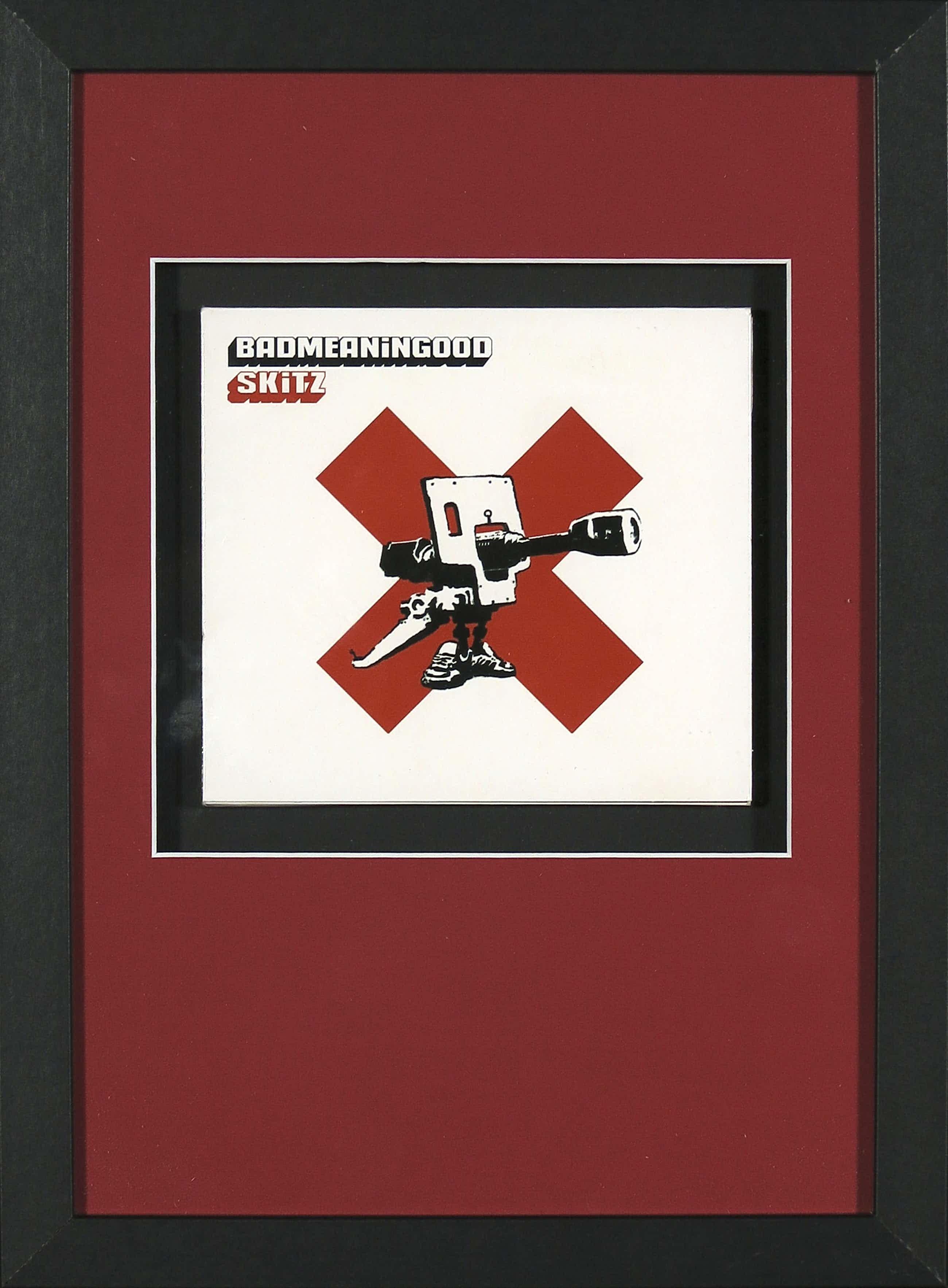 Banksy - Badmeaninggood vol. 1 door Skitz (CD) - Ingelijst kopen? Bied vanaf 150!